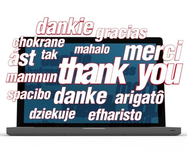 bedanken